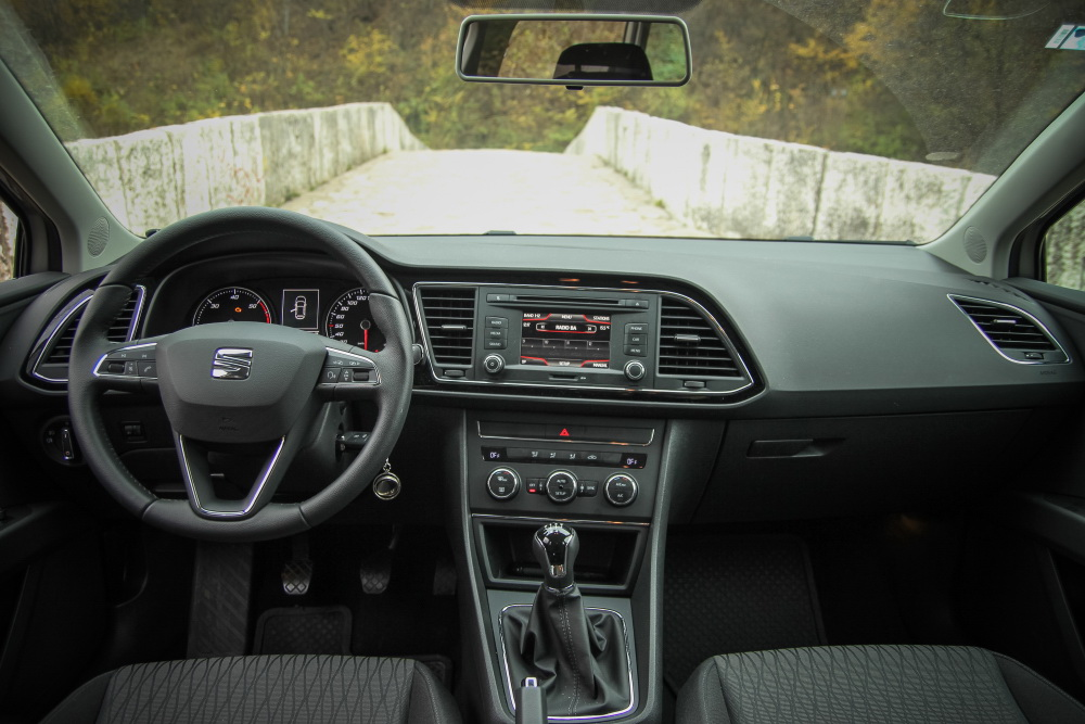 test seat leon st 1 6 tdi prakti ni minker carlander. Black Bedroom Furniture Sets. Home Design Ideas