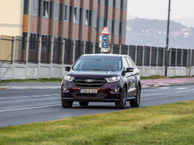 Test Ford Edge Sport 2.0 TDCi 35