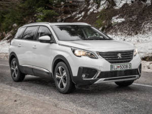 Test Peugeot 5008 ALLURE 1.6 BlueHDi 45