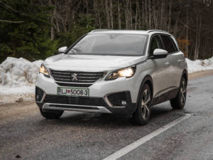Test Peugeot 5008 ALLURE 1.6 BlueHDi 48