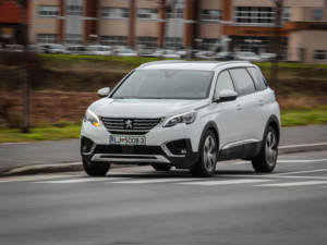 Test Peugeot 5008 ALLURE 1.6 BlueHDi 59