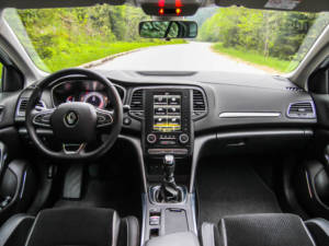 Test Renault Megane Grand Coupe 1.5 Dci 08