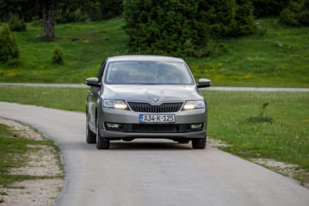 Test SKODA RAPID Ambition 1.6 MPI+LPG - Zelena Alternativa 11