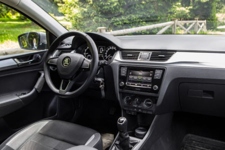 Test SKODA RAPID Ambition 1.6 MPI+LPG - Zelena Alternativa 17
