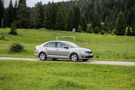Test SKODA RAPID Ambition 1.6 MPI+LPG - Zelena Alternativa 38