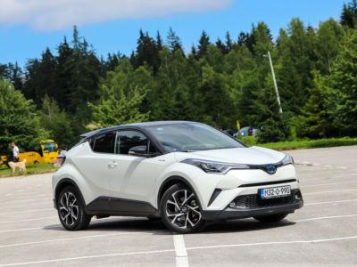 Test Toyota C-HR 2018 - 01