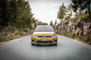 Test Volkswagen Golf Facelift 2017 - 01