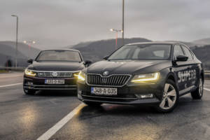 Uporedni Test Skoda Superb Vs Volkswagen Passat (2016) 04