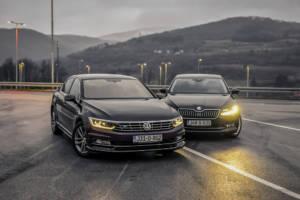 Uporedni Test Skoda Superb Vs Volkswagen Passat (2016) 06