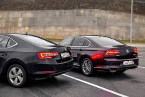 Uporedni Test Skoda Superb Vs Volkswagen Passat (2016) 07