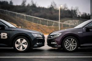 Uporedni Test Skoda Superb Vs Volkswagen Passat (2016) 11