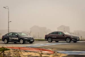 Uporedni Test Skoda Superb Vs Volkswagen Passat (2016) 17