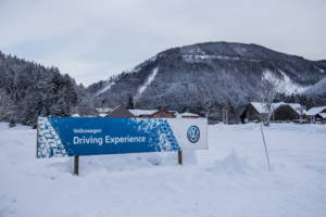 Volkswagen Winter Driving Experience 2018. 01