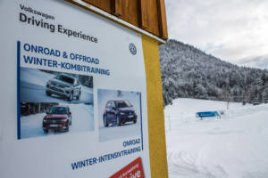 Volkswagen Winter Driving Experience 2018. 02