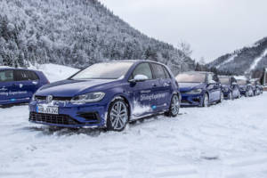 Volkswagen Winter Driving Experience 2018. 10