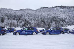 Volkswagen Winter Driving Experience 2018. 14