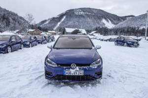 Volkswagen Winter Driving Experience 2018. 15