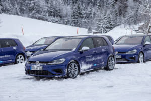 Volkswagen Winter Driving Experience 2018. 16