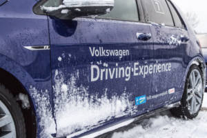 Volkswagen Winter Driving Experience 2018. 18