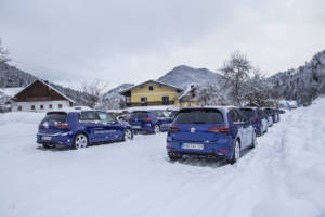 Volkswagen Winter Driving Experience 2018. 20