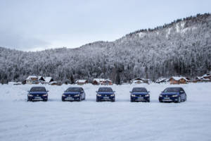 Volkswagen Winter Driving Experience 2018. 21