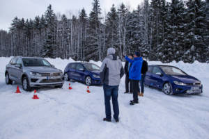 Volkswagen Winter Driving Experience 2018. 23
