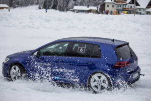 Volkswagen Winter Driving Experience 2018. 28