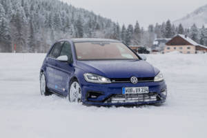 Volkswagen Winter Driving Experience 2018. 32