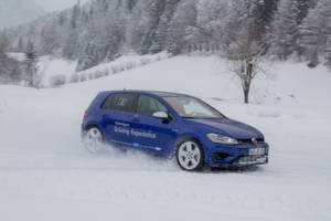 Volkswagen Winter Driving Experience 2018. 34