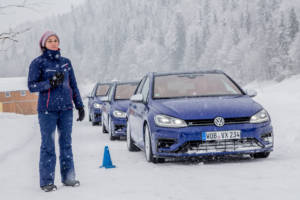 Volkswagen Winter Driving Experience 2018. 36