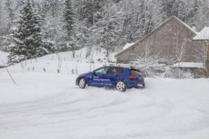 Volkswagen Winter Driving Experience 2018. 40