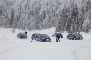 Volkswagen Winter Driving Experience 2018. 41