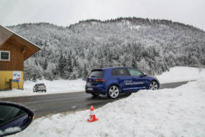 Volkswagen Winter Driving Experience 2018. 42