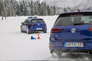Volkswagen Winter Driving Experience 2018. 45