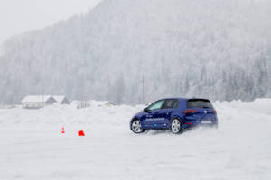 Volkswagen Winter Driving Experience 2018. 46
