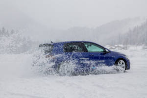 Volkswagen Winter Driving Experience 2018. 48