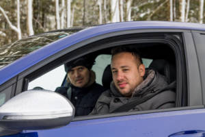 Volkswagen Winter Driving Experience 2018. 51