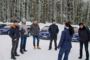 Volkswagen Winter Driving Experience 2018. 52
