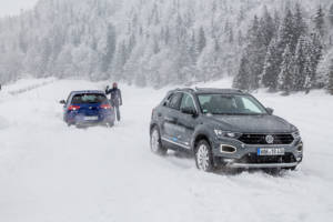 Volkswagen Winter Driving Experience 2018. 53