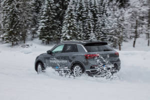 Volkswagen Winter Driving Experience 2018. 56