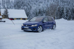 Volkswagen Winter Driving Experience 2018. 58