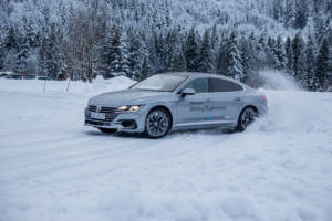 Volkswagen Winter Driving Experience 2018. 60