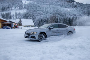 Volkswagen Winter Driving Experience 2018. 61