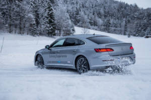 Volkswagen Winter Driving Experience 2018. 62