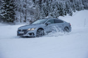 Volkswagen Winter Driving Experience 2018. 64