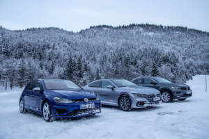 Volkswagen Winter Driving Experience 2018. 69