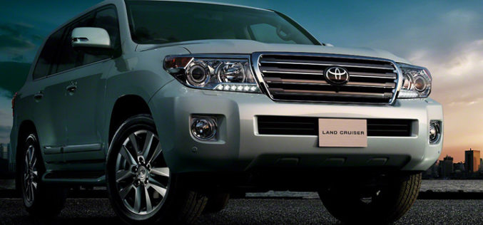 Toyota Land Cruiser 200 – Facelift 2012.