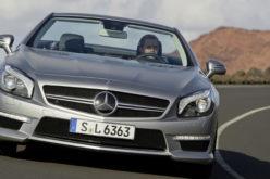 Mercedes SL 65 AMG 2012.