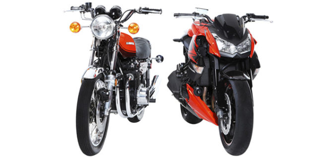 Kawasaki slavi 40 godina Z modela