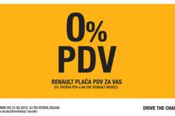 Akcija – 0% pdv